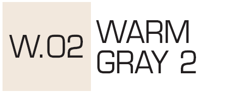 Kurecolor Twin S- Warm Gray 2
