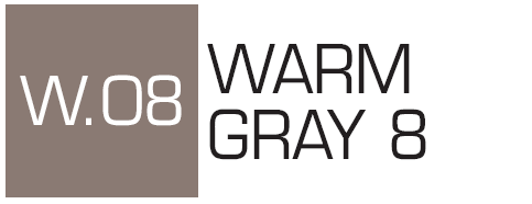 Kurecolor Twin S- Warm Gray 8