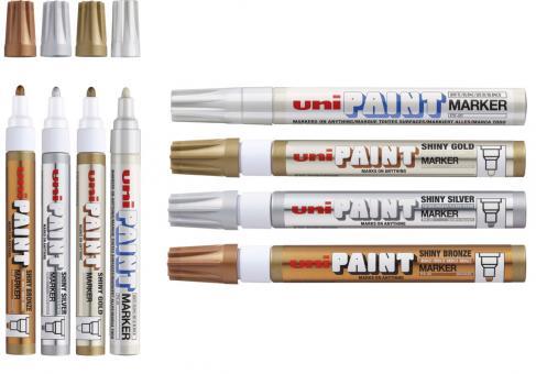 Uni Paint Marker PX-20 4er Pack