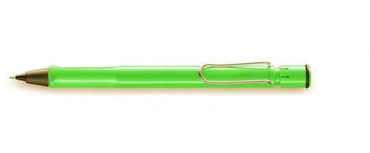 LAMY safari Druckbleistift  grün inkl. Gravur