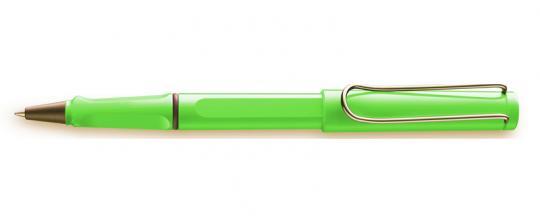 LAMY safari Tintenroller  grün inkl. Gravur