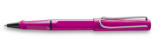 LAMY safari Tintenroller pink  inkl. Gravur