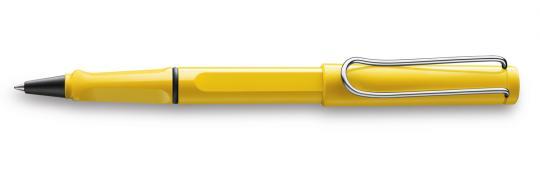 LAMY safari Tintenroller gelb  inkl. Gravur