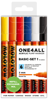 Molotow ONE4ALL™ 127HS Basic Set 1 2mm
