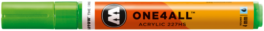 Molotow ONE4ALL™  227HS 219 neongrün fluo. 4mm