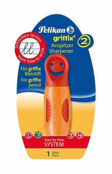 Pelikan Anspitzer Griffix orange-rot