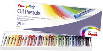 Pentel Öl-Pastellkreide 25 Farben