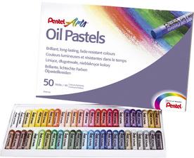 Pentel Öl-Pastellkreide 50 Farben