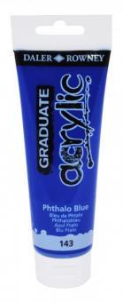 Daler-Rowney Phthaloblau 143 Graduate acrylic 120ml