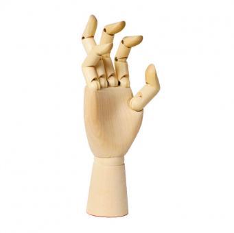 Renensans Zeichenmodell rechte Hand, Holzmodel