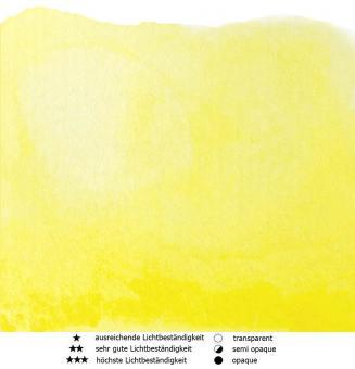 07 Zitronengelb Renesans Aquarellfarbe Intense Water  15 ml