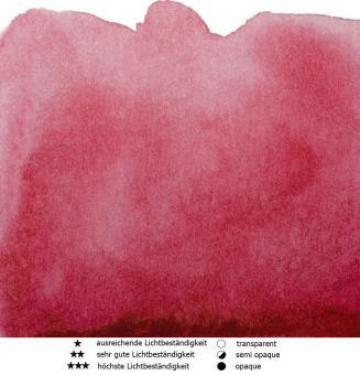23 Quinacridonerot Renesans Aquarellfarbe Intense Water 15 ml