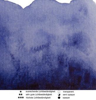 34 Indanthrenblau Renesans Aquarellfarbe Intense Water 15 ml