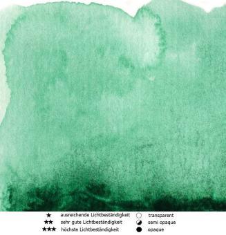 42 Phtalogrün Renesans Aquarellfarbe Intense Water 15 ml
