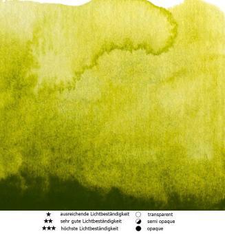 48 Goldengrün Renesans Aquarellfarbe Intense Water 15 ml