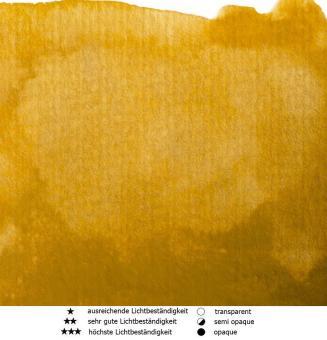 50 Gelber Ocker Renesans Aquarellfarbe Intense Water 15 ml