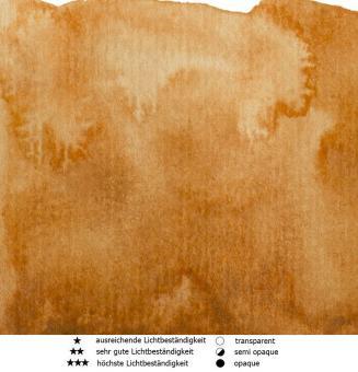 53 Siena gebrannt Renesans Aquarellfarbe Intense Water 15 ml