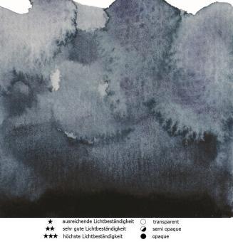 65 Payne´s Grau Renesans Aquarellfarbe Intense Water 15 ml