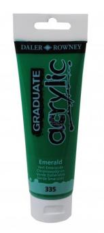 Daler-Rowney Smaragdgrün 335 Graduate acrylic 120ml