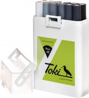 Toki Marker 12er Grey Set Versandkostenfrei in D