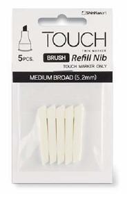 Touch Twin Brush Marker  Ersatzspitze Breit