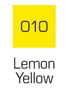 Kuretake ZIG Art & Graphic Marker Lemon Yellow 010