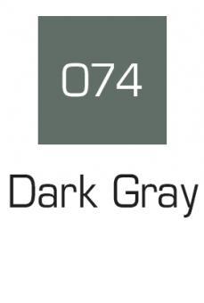 Kuretake ZIG Art & Graphic Marker Dark Gray 074