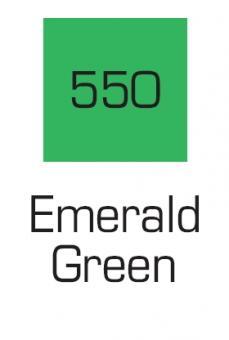 Kuretake ZIG Art & Graphic Marker Emaerald Green 550