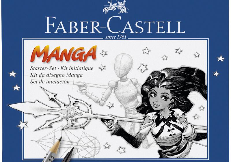 billigermalen faber castell tuschestift pitt artist pen manga starter set k nstlerbedarf. Black Bedroom Furniture Sets. Home Design Ideas