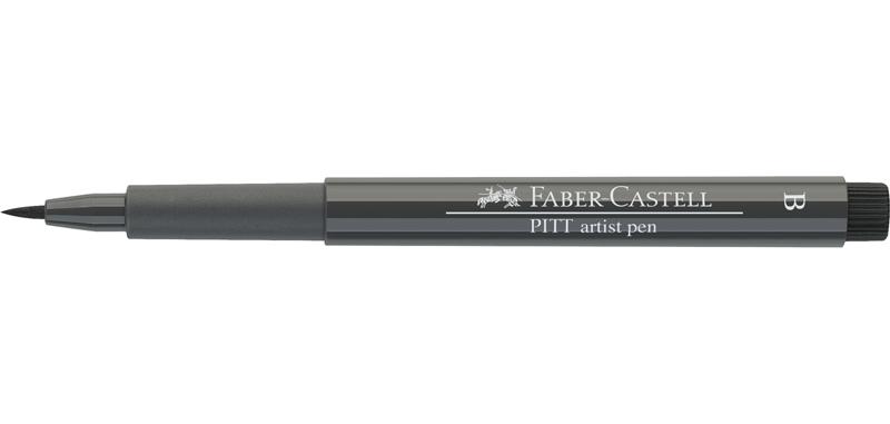 FABER-CASTELL Tuschestift PITT artist pen WARMGRAU III
