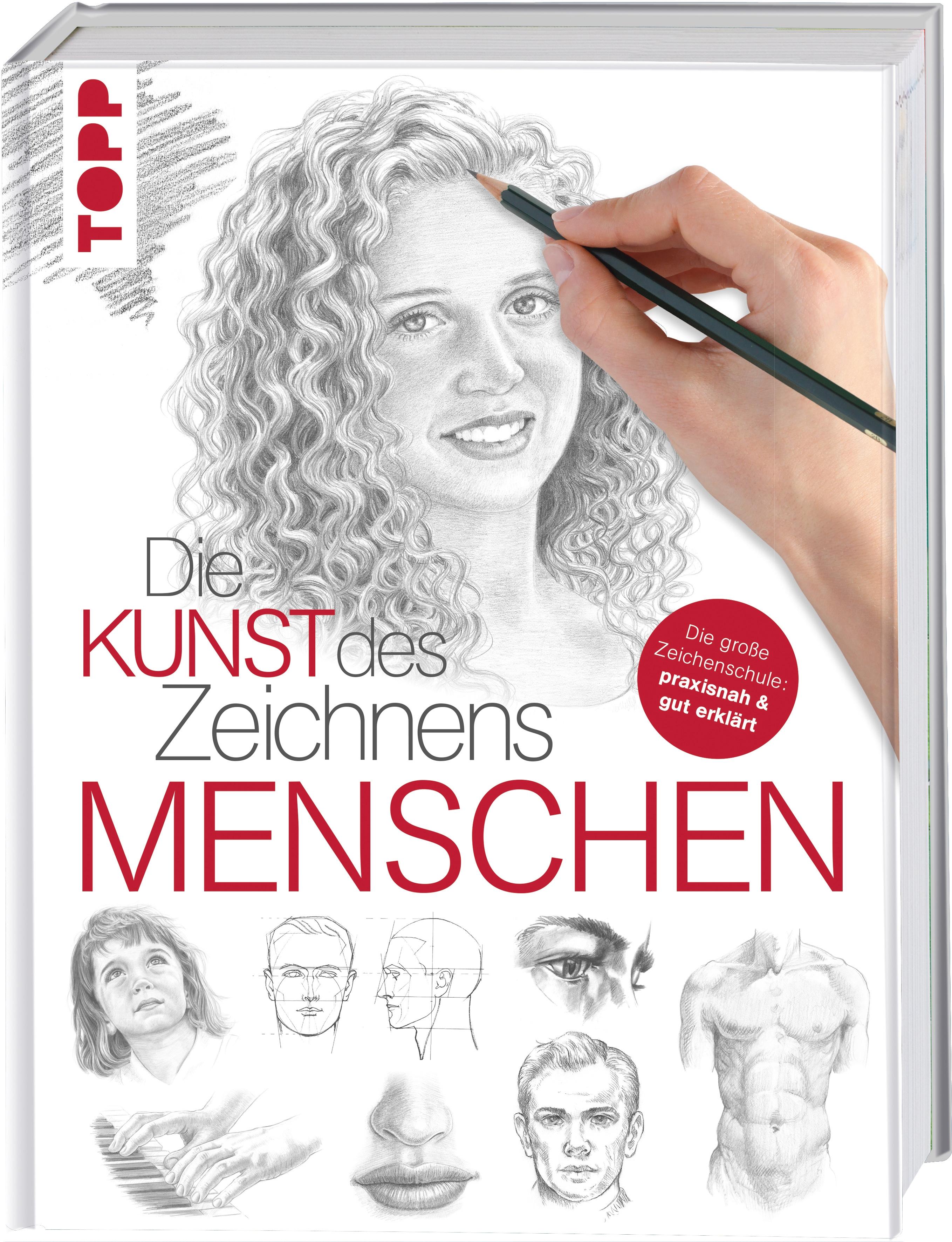 billigermalen | Die Kunst des Zeichnens - Menschen Walter Foster ...