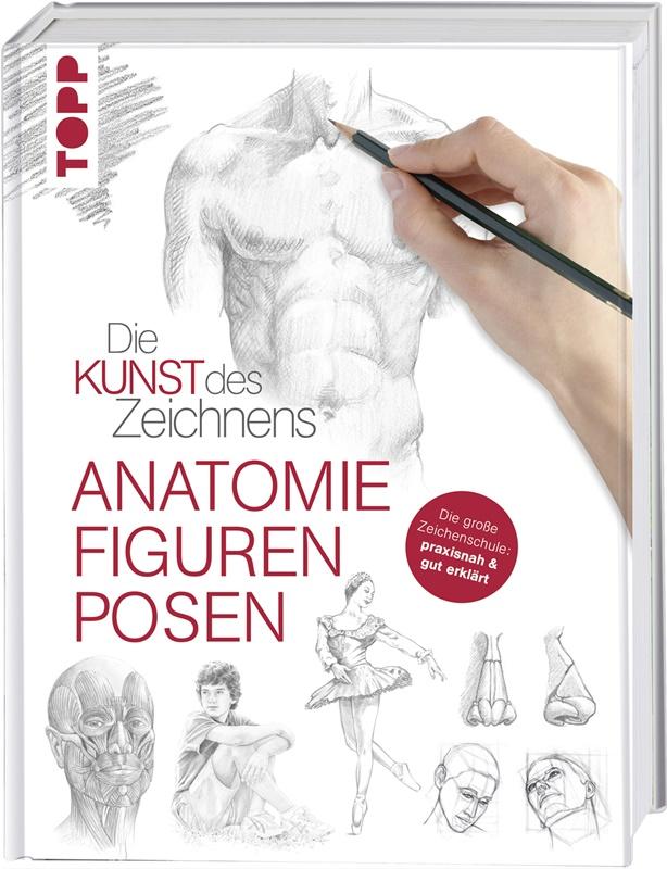 billigermalen   Die Kunst des Zeichnens - Anatomie. Figuren, Posen ...