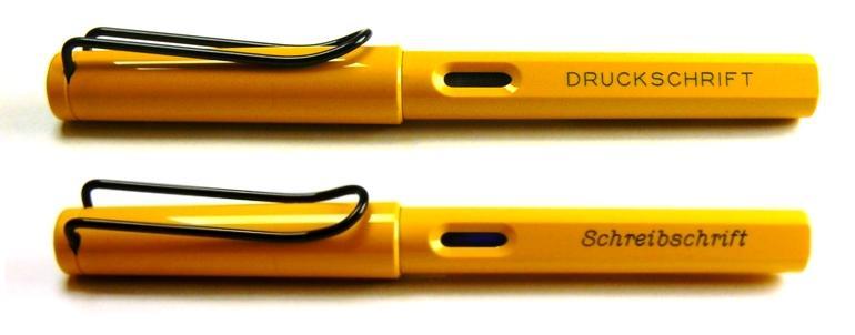 4 farben kugelschreiber mit gravur